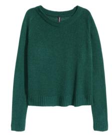 tealgreenknitsweater
